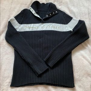 knit tommy hilfiger sweater